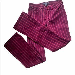 Marc Jacobs Cotton Velvet-like Pants size 2